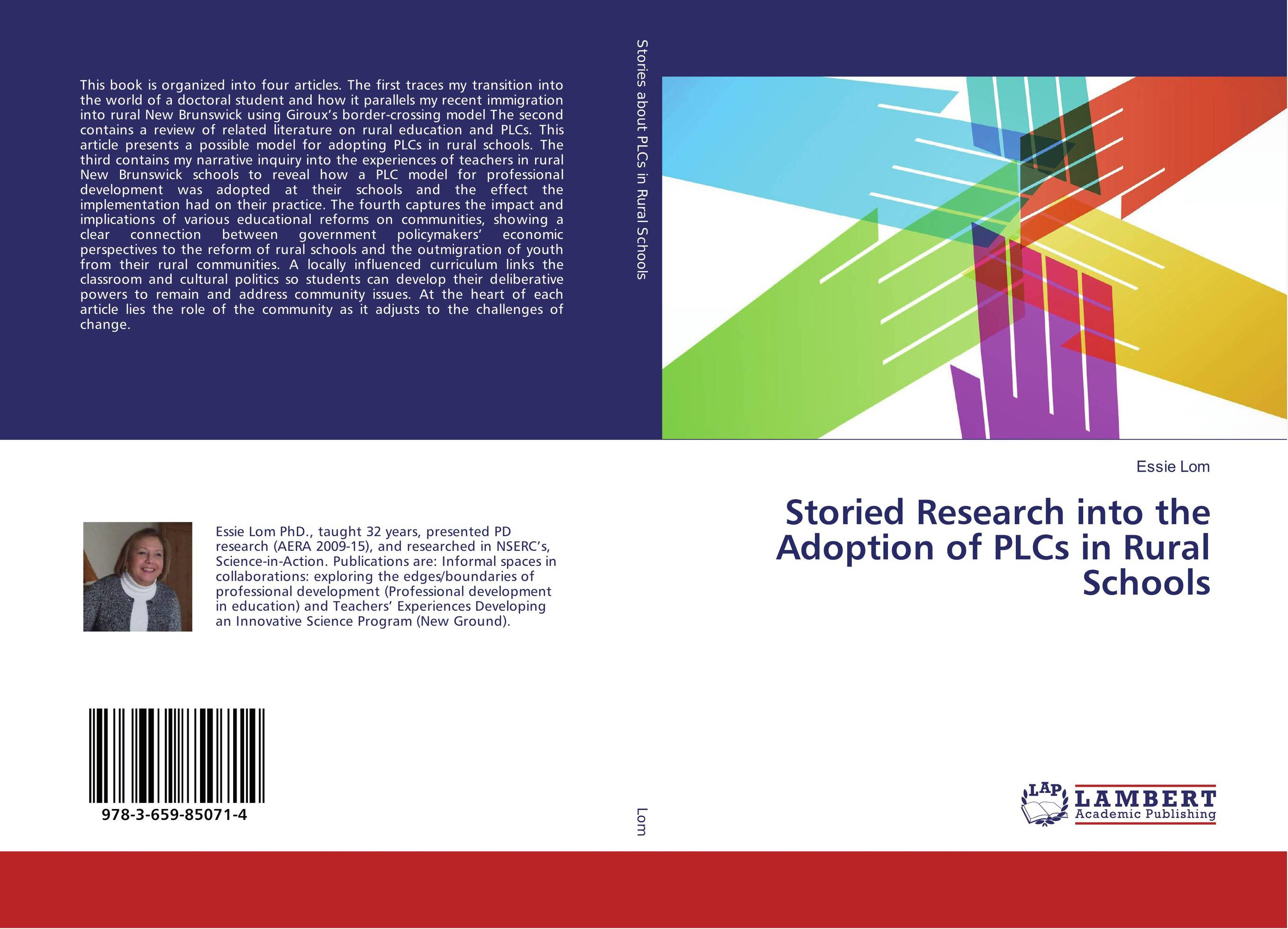 Storied Research into the Adoption of PLCs in Rural Schools new in stock ve j62 iz