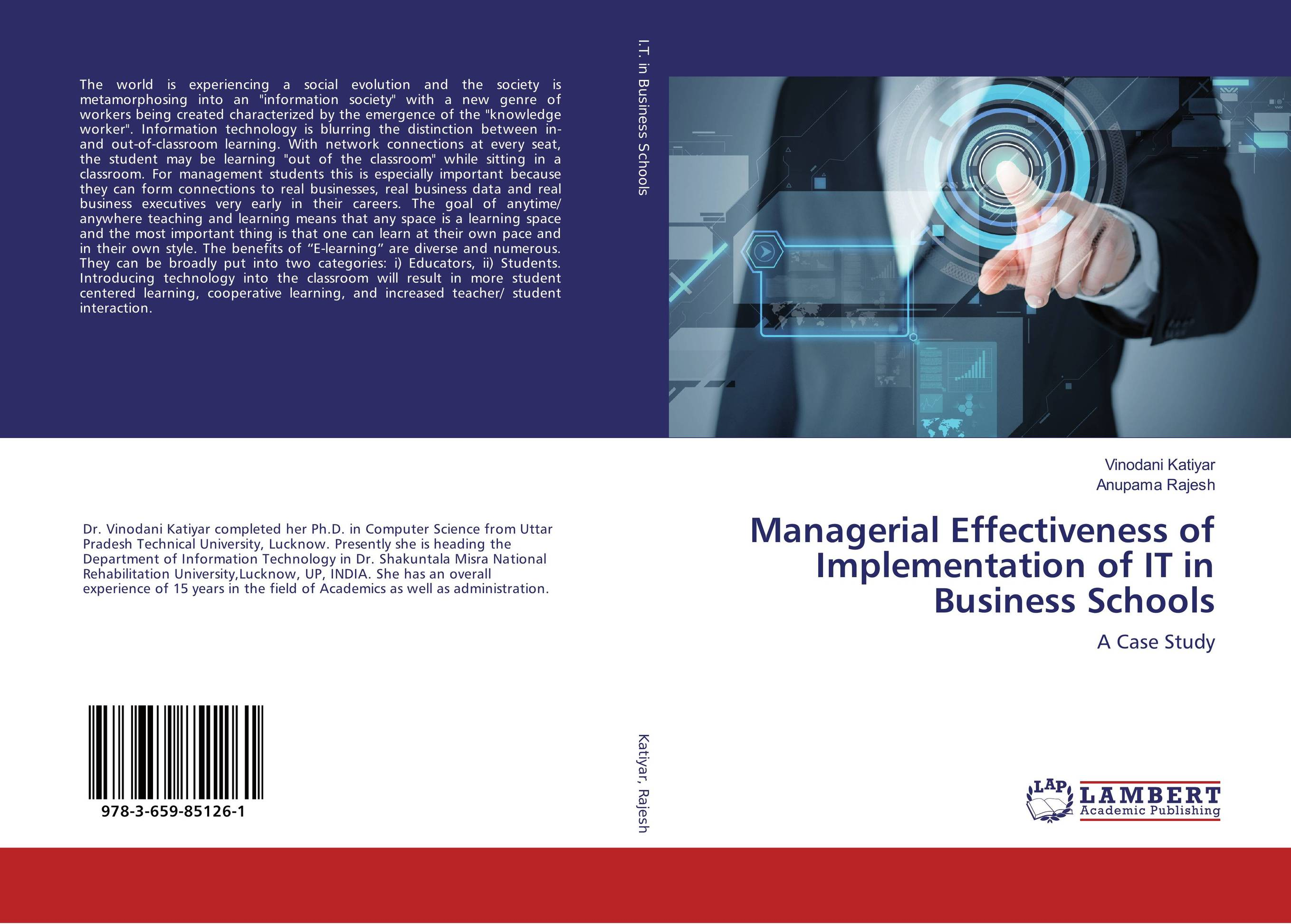 Managerial Effectiveness of Implementation of IT in Business Schools палантин piazza italia piazza italia pi022gwyrq44