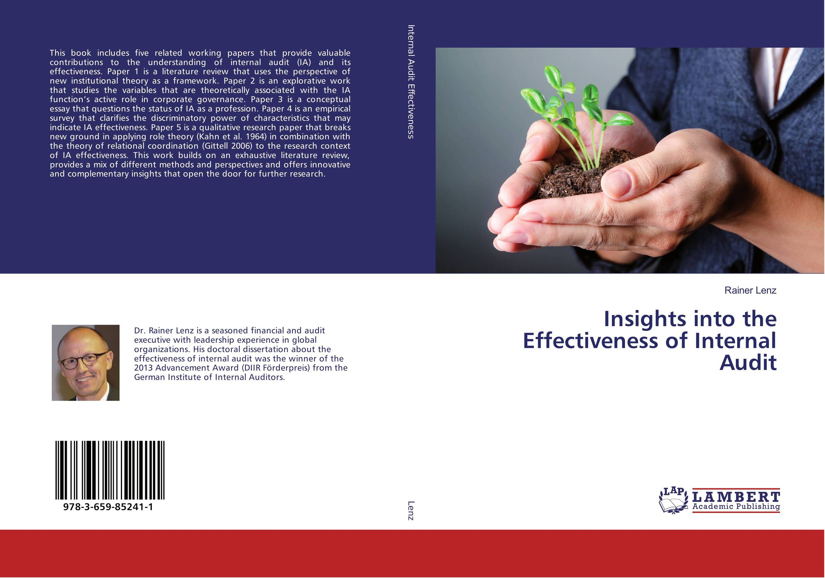 Insights into the Effectiveness of Internal Audit