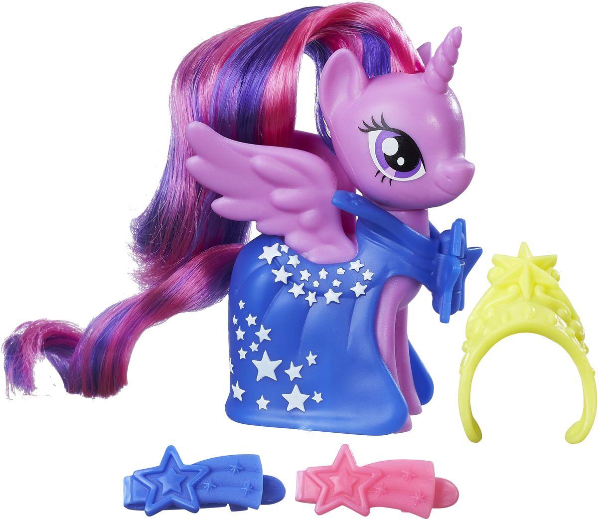 My Little Pony Игровой набор Пони-модница Princess Twilight Sparkle disney princess игровой набор мерида и пони