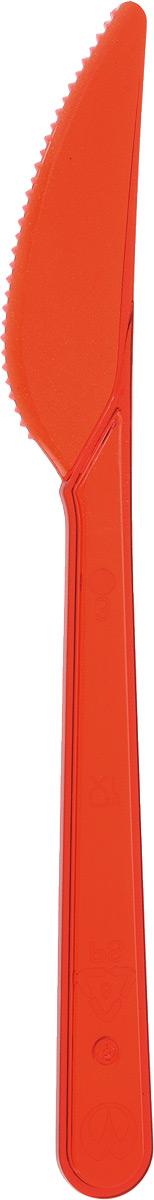 """Набор """"Buffet"""" состоит из 10 одноразовых ножей, выполненных из полистирола. Изделия отлично подойдут для холодных и горячих пищевых продуктов.Одноразовые ножи незаменимы в поездках на природу и на пикниках. Они не займут много места, легки и самое главное - после использования их не надо мыть.Длина ножа: 18 см.Размер рабочей части: 2 х 7,5 см."""