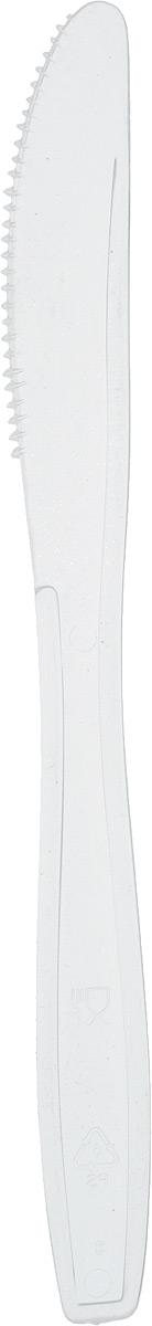 """Набор одноразовых ножей """"Buffet"""", цвет: прозрачный, 10 шт 188255я/_прозрачный"""