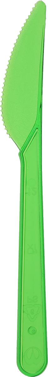 Набор одноразовых ножей Buffet, цвет: зеленый, 10 шт188255я/_зеленыйНабор Buffet состоит из 10 одноразовых ножей, выполненных из полистирола. Изделия отлично подойдут для холодных и горячих пищевых продуктов.Одноразовые ножи незаменимы в поездках на природу и на пикниках. Они не займут много места, легки и самое главное - после использования их не надо мыть.Длина ножа: 18 см.Размер рабочей части: 2 х 7,5 см.