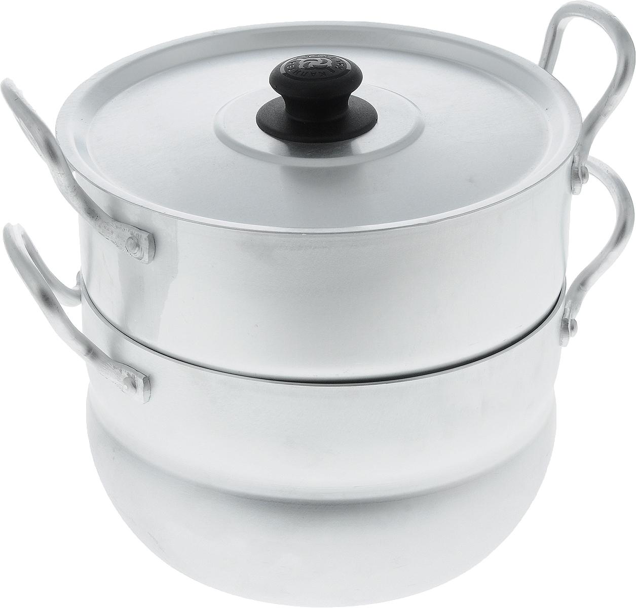 Кастрюля-пароварка  Калитва  с крышкой, 2,5 л - Посуда для приготовления
