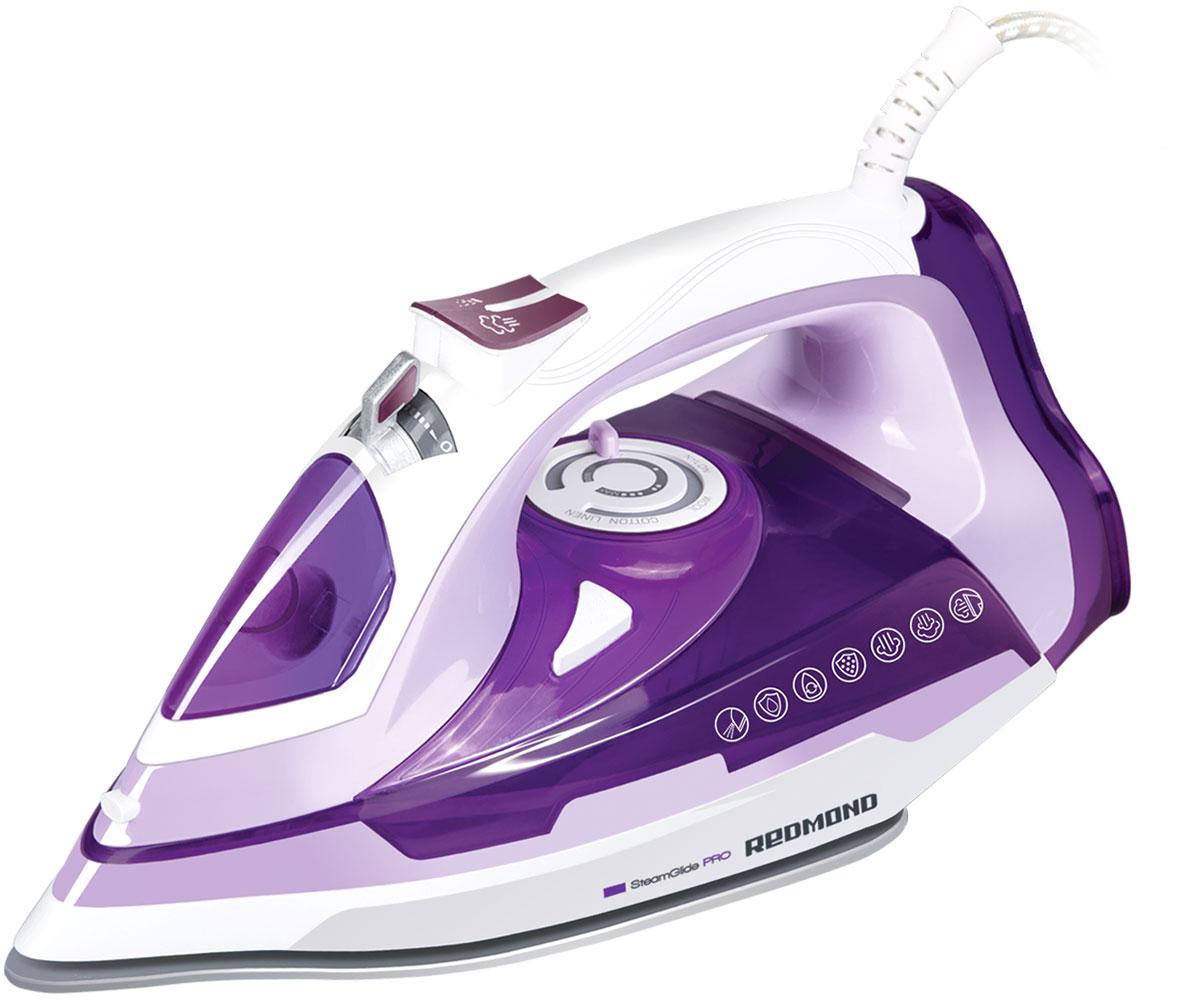 Redmond RI-C245, Purple утюг утюг redmond ri c252 2200вт розовый ri c252 розовый