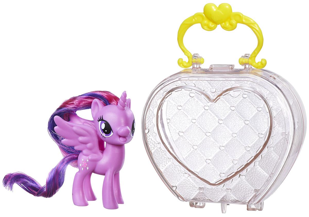 My Little Pony Фигурка Пони Твайлайт Спаркл в сумочке my little pony фигурка пони эпл джек в сумочке
