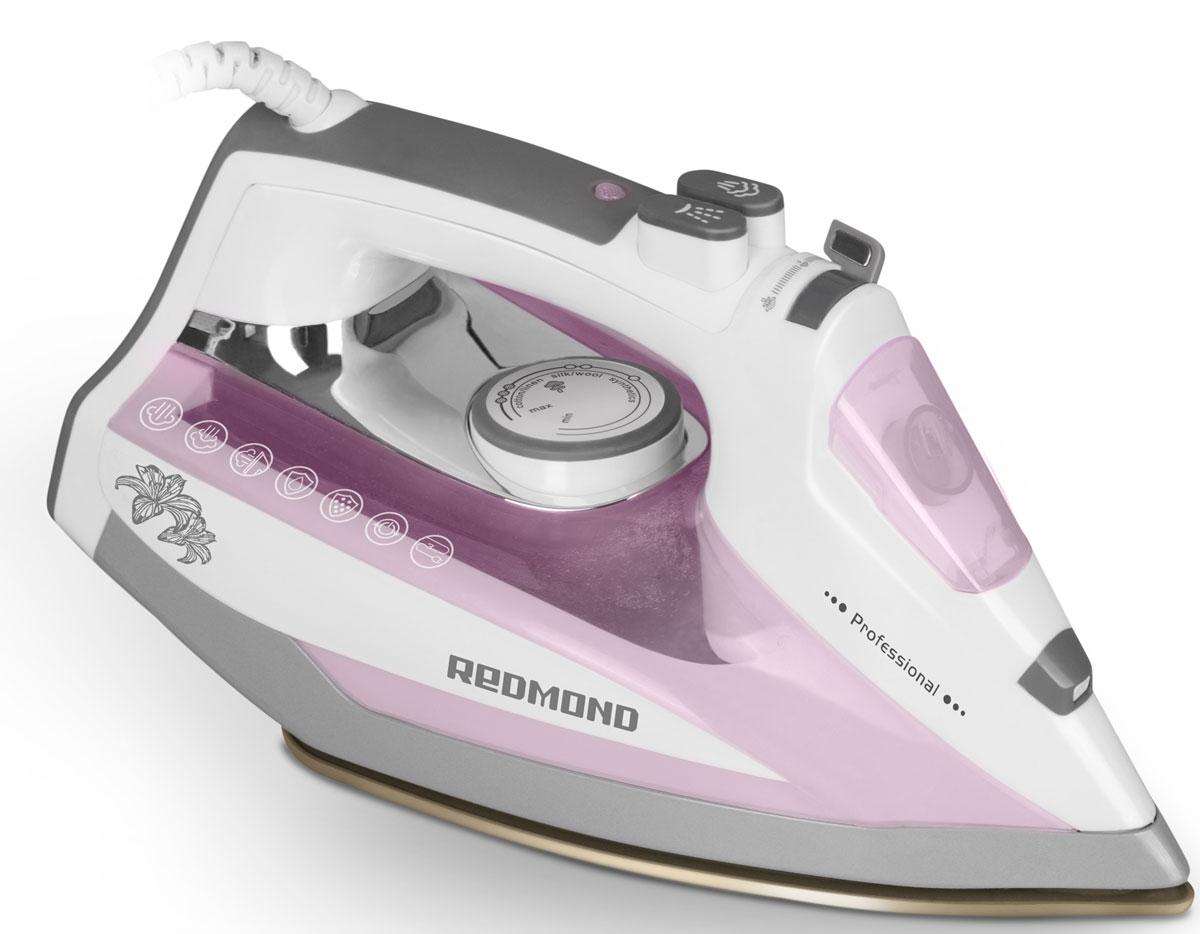 Redmond RI-D235, Pink утюгRI-D235 (розовый)Утюг Redmond RI-D235 - новая классическая модель с простым и надёжным механизмом управления, обладающая обширным набором функций и технических возможностей. Данный прибор идеально подойдёт для любого дома!Утюг RI-D235 имеет подошву с современным антипригарным покрытием Duralon, которое гарантирует лёгкое и приятное скольжение устройства по ткани и равномерное распределение пара по всей поверхности. В данной модели реализована автоматическая система Капля-стоп, предотвращающая протекание воды. Благодаря этому можно разглаживать даже самые деликатные ткани без риска повредить их. Функция самоочистки служит для очистки аппарата от образовавшейся накипи в соплах подошвы. Чрезвычайно полезен и паровой удар, предназначенный для разглаживания плотных и сильно мнущихся тканей.Redmond RI-D235 порадует возможностью сухого глаженья и функцией автоотключения, обеспечивающей безопасность эксплуатации утюга и позволяющей экономить электроэнергию. Для максимального комфорта аппарат оснащён удобной прорезиненной ручкой. Вы в полной мере насладитесь этим практичным и элегантным утюгом!
