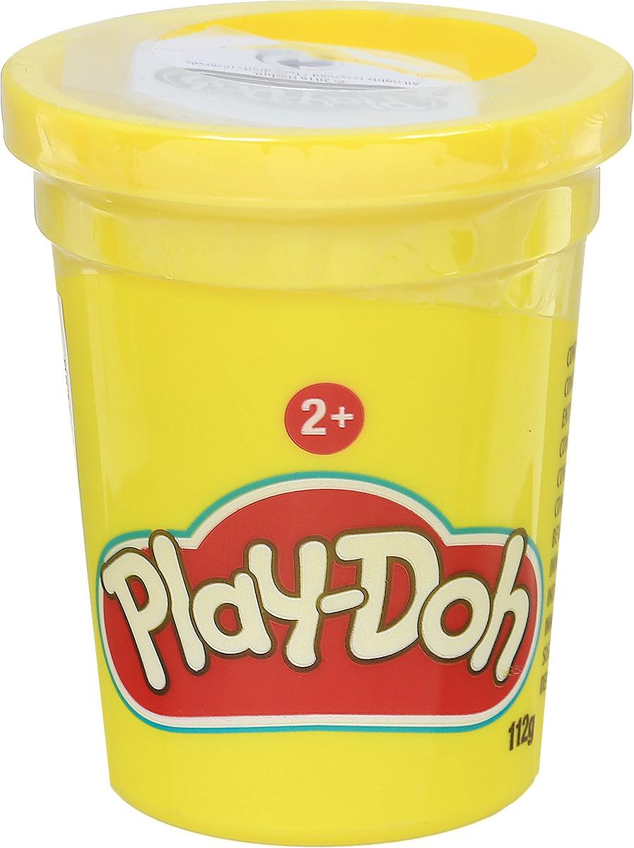 Play-Doh Пластилин цвет желтый 112 г play doh b6756 пластилин 1 банка 112 гр в ассорт фиол розов оранж голуб желт