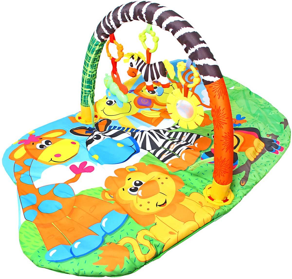 Ути-Пути Развивающий коврик Веселый зоопарк