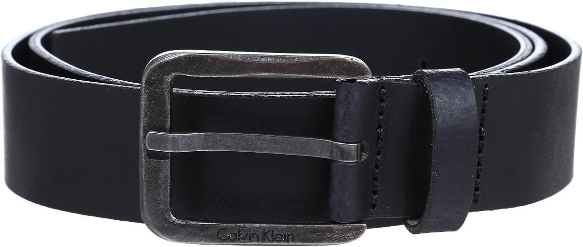 Ремень мужской Calvin Klein Jeans, цвет: черный. K50K501207_0010. Размер 90 ремень женский calvin klein цвет черный k60k602122 0010 размер 95