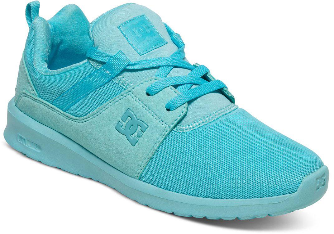 Кроссовки женские DC Shoes Heathrow, цвет: голубой. ADJS700021-MNT. Размер 5B (36)ADJS700021-MNTСтильные женские кроссовки DC Shoes Heathrow - отличный вариант на каждый день.Модель выполнена из текстиля. Шнуровка надежно фиксирует обувь на ноге. Резиновая подошва с протектором гарантирует отличное сцепление с поверхностью. В таких кроссовках вашим ногам будет комфортно и уютно.