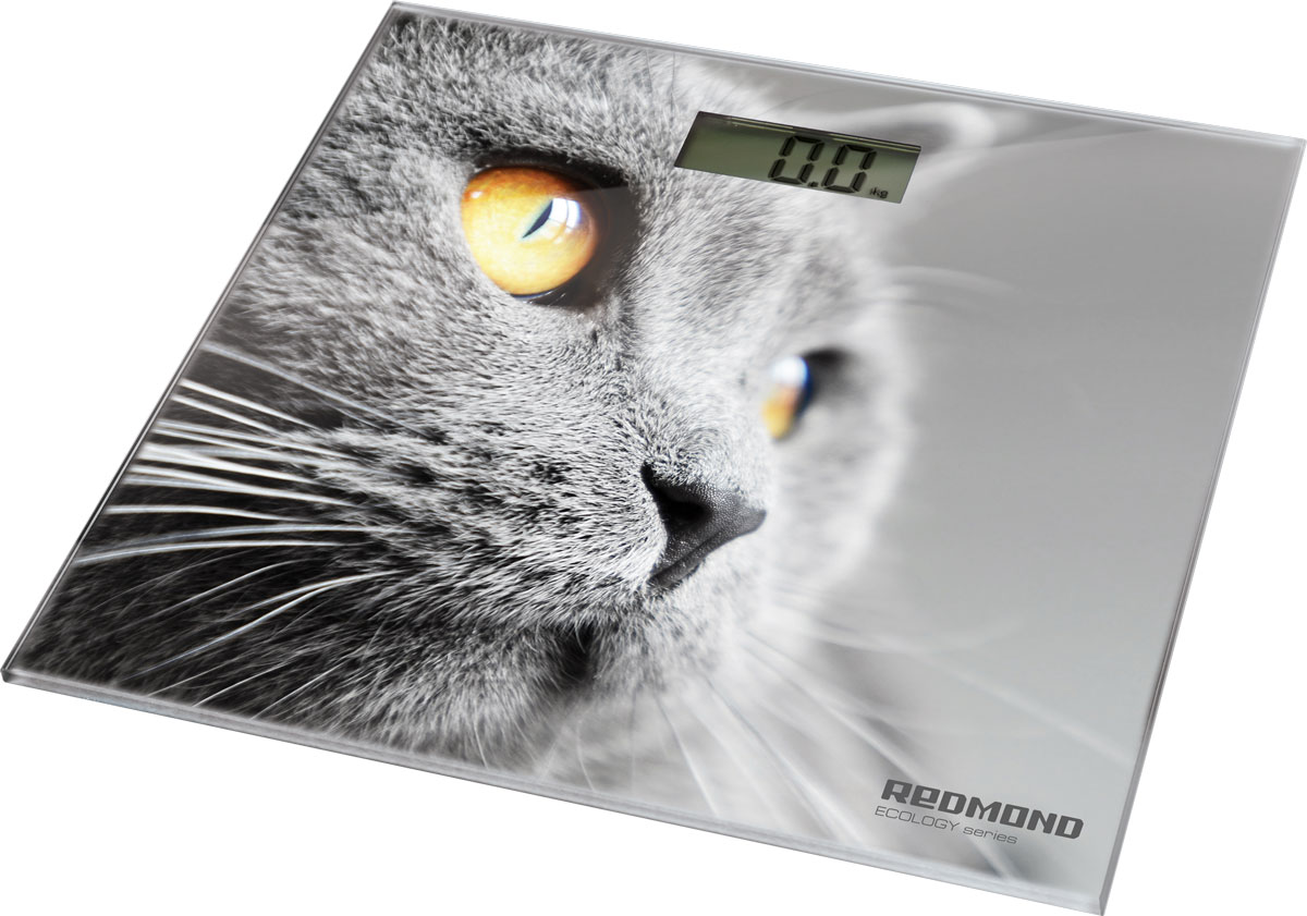 Redmond RS-735 Кошка напольные весыRS-735 (кошки)Напольные электронные весы Redmond RS-735 - неотъемлемый атрибут здорового образа жизни. Они необходимы тем, кто следит за своим здоровьем, весом, ведет активный образ жизни, занимается спортом и фитнесом. Очень удобны для будущих мам, постоянно контролирующих прибавку в весе, также рекомендуются родителям, внимательно следящим за весом своих детей.
