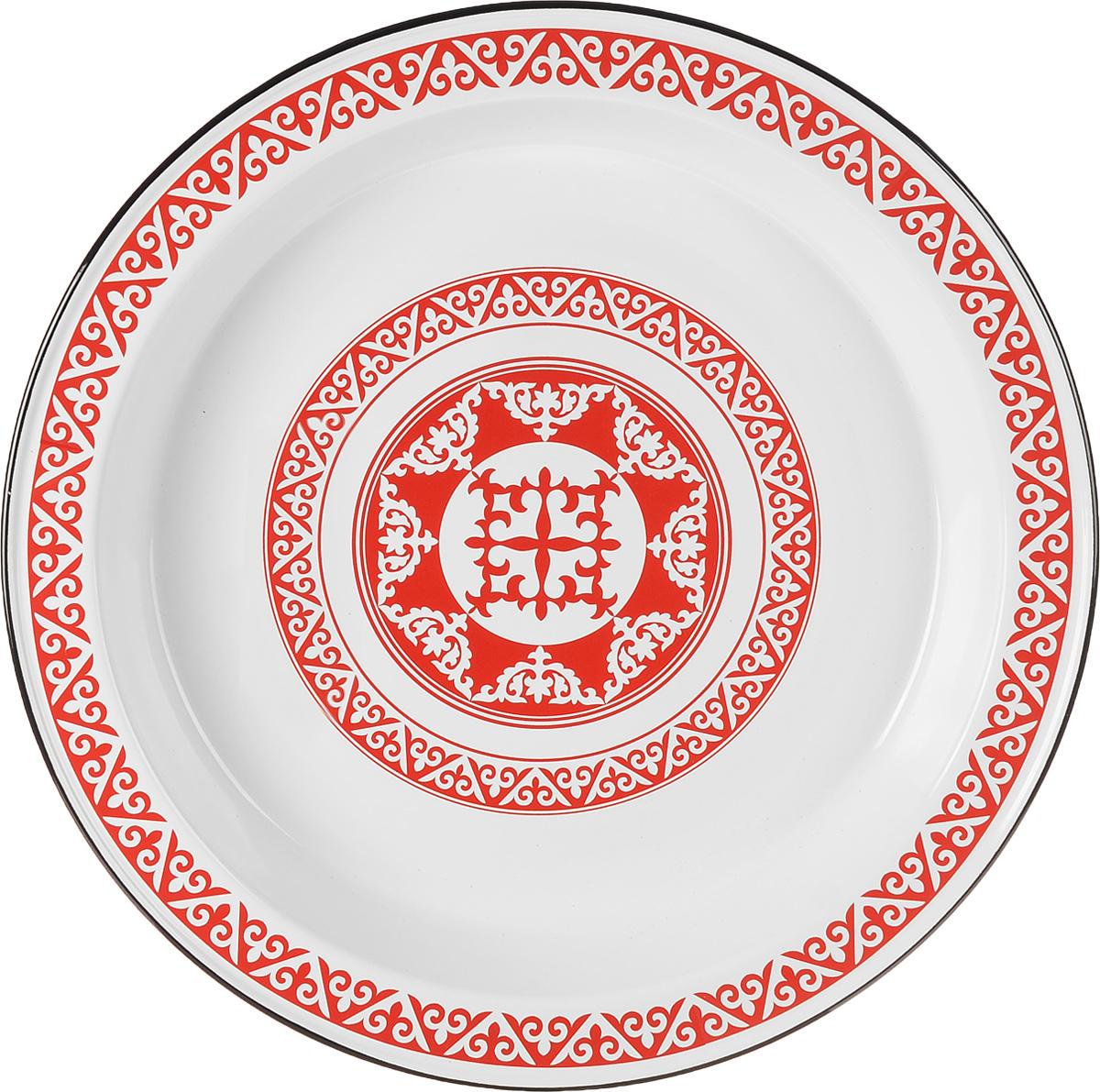 Блюдо Эмаль, диаметр 49 см блюда pavone блюдо