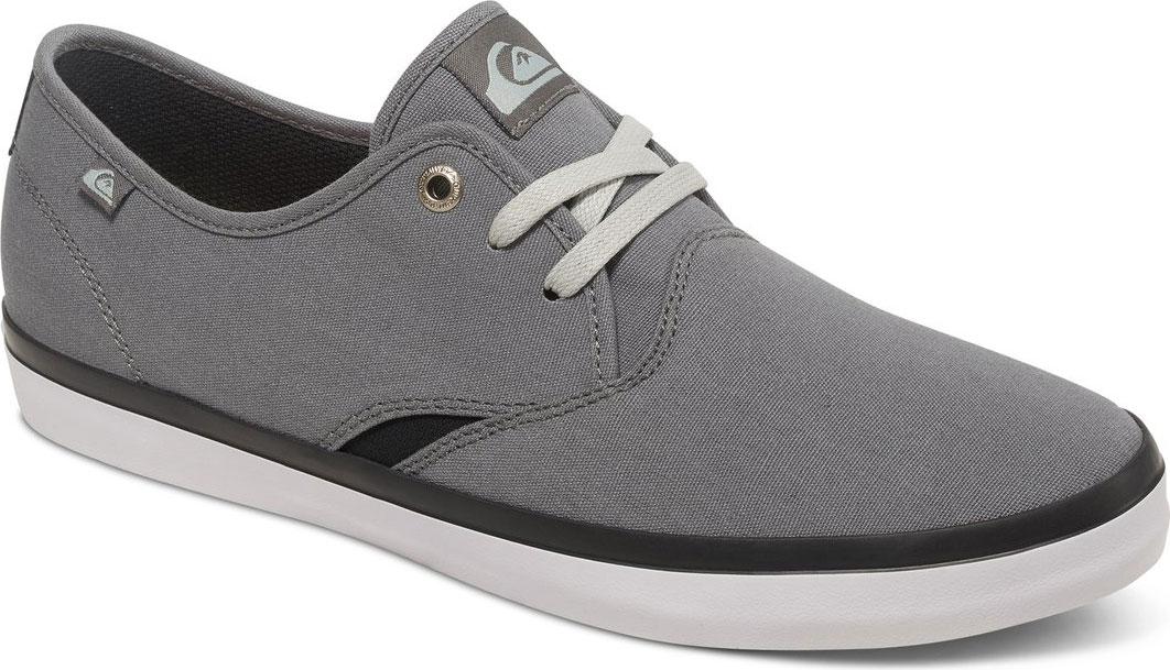 Купить Кеды мужские Quiksilver Shorebreak, цвет: серый. AQYS300027-XSKW. Размер 9 (42)