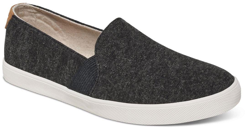 Слипоны женские Roxy Atlanta, цвет: черный. ARJS300275-BLK. Размер 8,5 (38)ARJS300275-BLKМодные женские слипоны Atlanta от Roxy придутся вам по душе. Модель выполнена из плотного текстиля. Эластичные вставки по бокам гарантируют идеальную посадку модели на ноге. Подкладка и мягкая стелька из текстиля обеспечат комфорт и предотвратят натирание. Подошва дополнена рифлением.