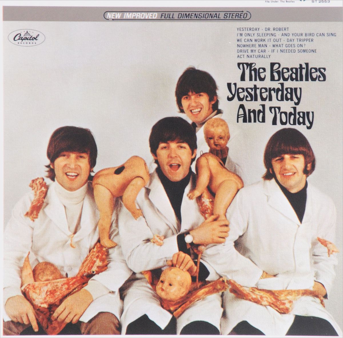 The Beatles The Beatles. Yesterday And Today the beatles rare and unseen