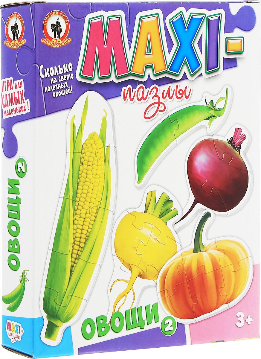 Русский стиль Пазл для малышей Овощи-2 5 в 1