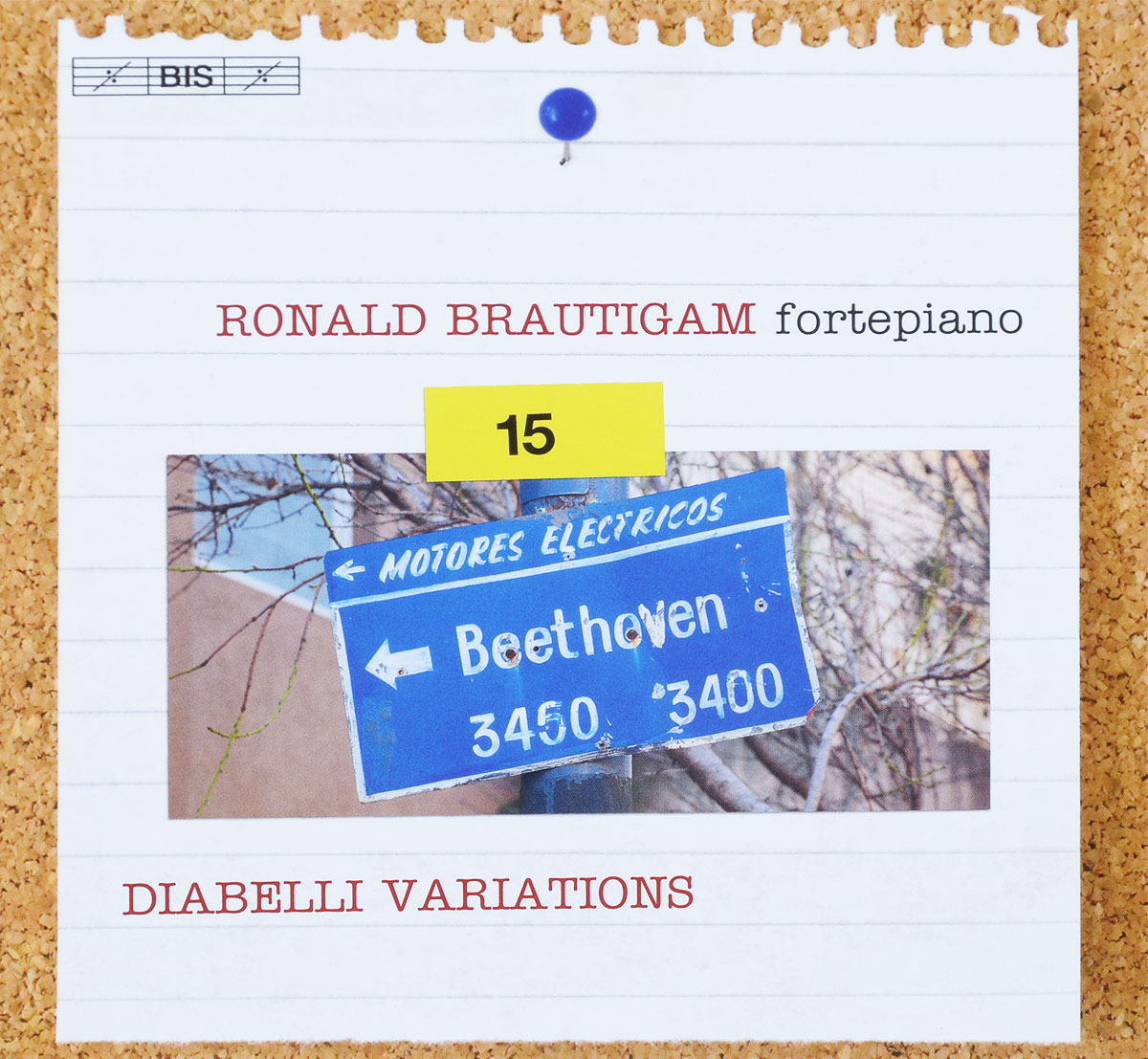 Ronald Brautigam. Beethoven. Complete Works for Solo Piano, Vol. 15 (SACD)