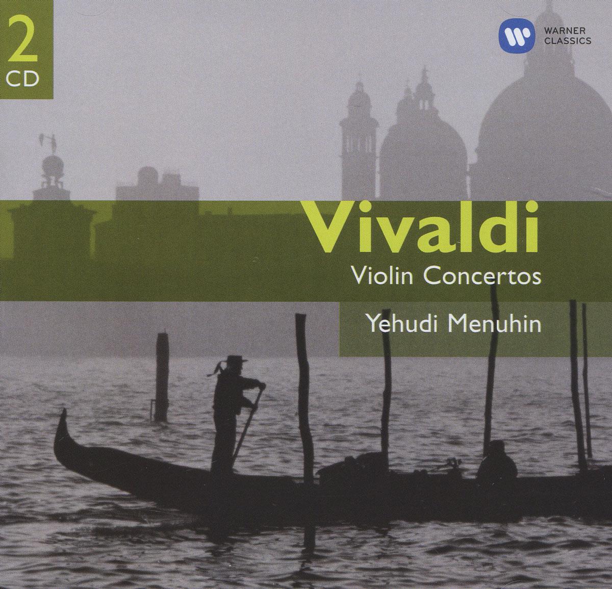 Иегуди Менухин,Polish Chamber Orchestra Vivaldi. Violin Concertos. Yehudi Menuhin (2 CD) spectral classics pl151 bg 2 boxes