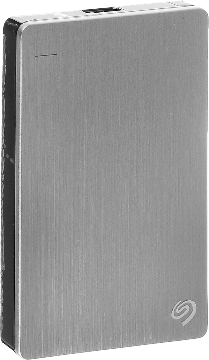 Seagate Backup Plus Portable Slim 1TB USB3.0, Silver (STDR1000201) внешний жесткий диск