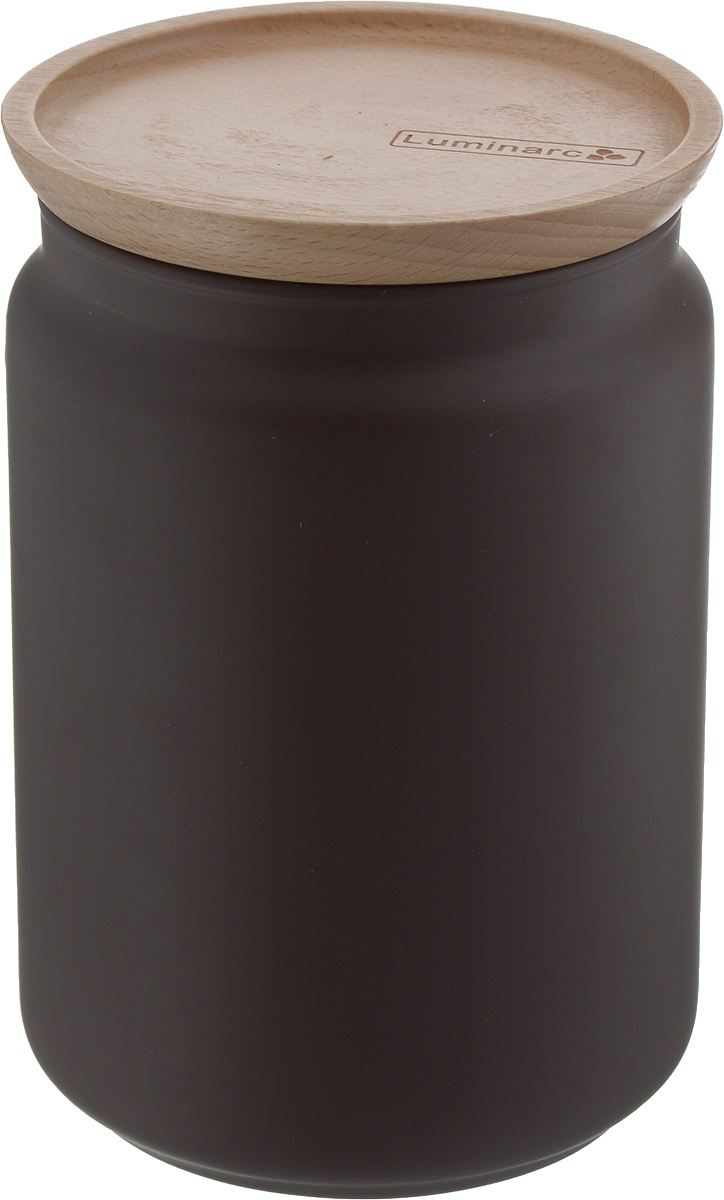 Банка для сыпучих продуктов Luminarc Boxmania. Bois Script, с деревянной крышкой, цвет: коричневый, 1 лJ6791Банка Luminarc Boxmania. Bois Script, выполненная извысококачественного стекла, станет незаменимымпомощником на кухне. В ней будет удобно хранитьразнообразные сыпучие продукты, такие как кофе,сахар, соль или специи. Прозрачная банка позволит следить,что и в каком количестве находится внутри. Банка надежнозакрывается деревянной крышкой, которая снабженасиликоновым уплотнителем для лучшей фиксации. Такая банка не только сэкономит место на вашей кухне, но иукрасит интерьер.Объем: 1 л.Диаметр банки (по верхнему краю): 10 см.Высота банки (без учета крышки): 15 см.