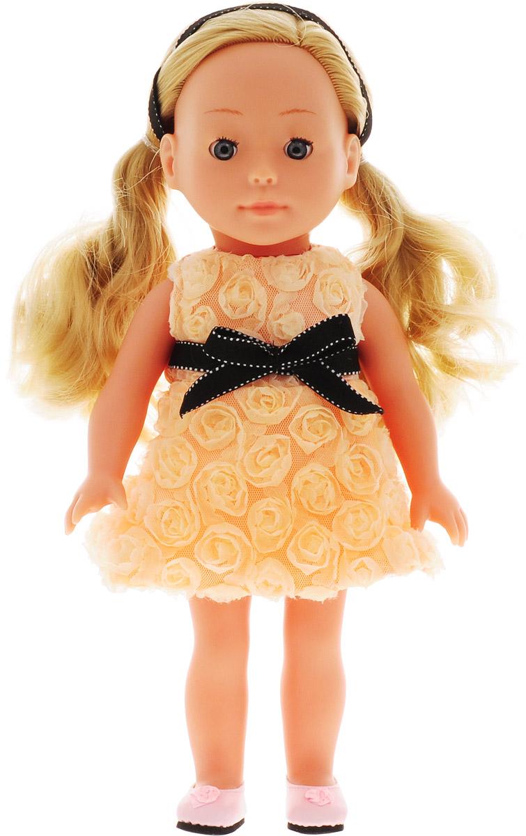 Bambolina Кукла Boutique цвет одежды персиковый 30 см bambolina кукла boutique цвет одежды розовый 40 см