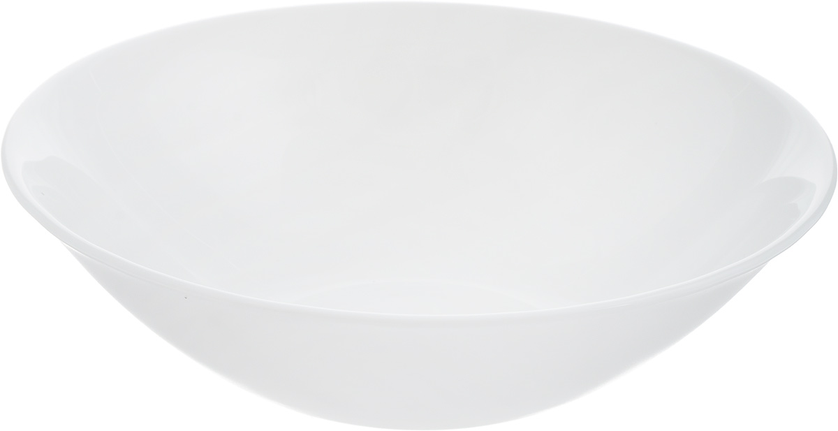 """Салатник Luminarc """"Evolution"""" изготовлен из высококачественного ударопрочного стекла. Изделие устойчиво к повреждениям и истиранию, в процессе эксплуатации не впитывает запахи и сохраняет первоначальные краски. Посуда Luminarc обладает не только высокими техническими характеристиками, но и красивым эстетичным дизайном.Luminarc - это современная, красивая, практичная столоваяпосуда. Такой салатник идеально подходит для красивой сервировкисоусов, варенья, меда, салатов и закусок. Можноиспользовать в СВЧ-печи. Диаметр (по верхнему краю): 16,5 см. Высота стенки: 5 см."""