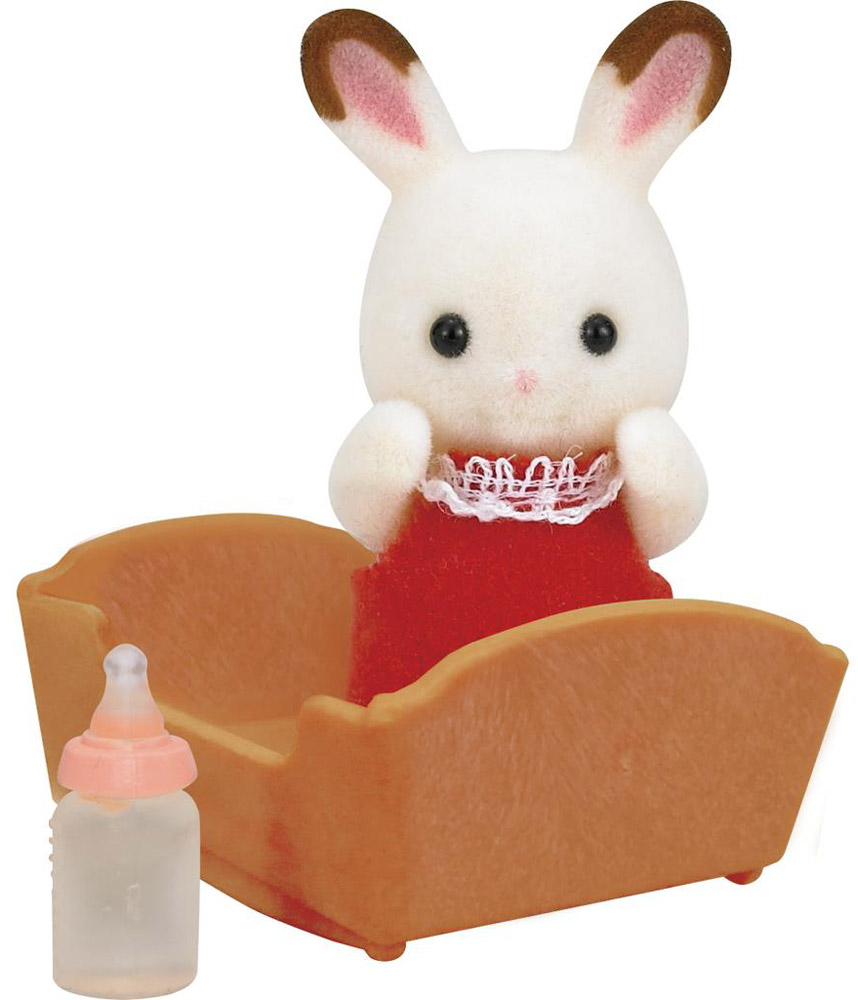Sylvanian Families Фигурка Малыш шоколадный кролик