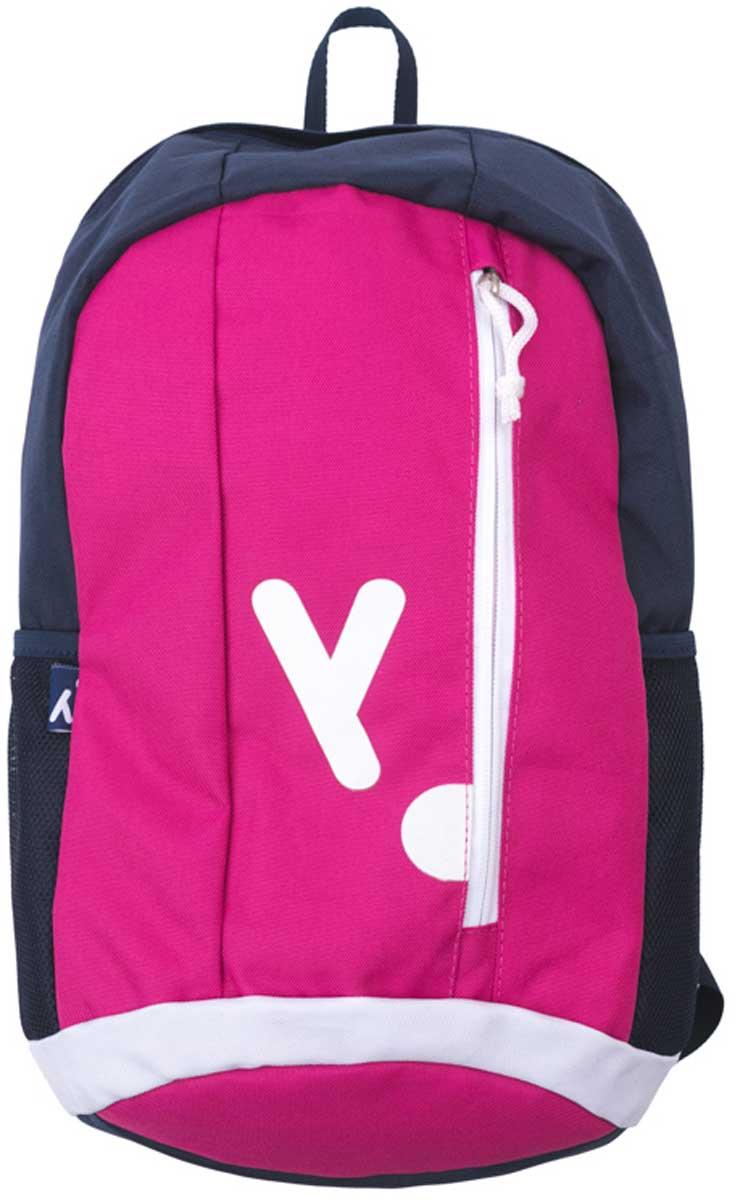 Рюкзак для девочки PlayToday, цвет: темно-синий, розовый, белый. 172751172751Удобный рюкзак выполнен из полиэстера. Передняя стенка дополнена карманом на молнии, боковые стороны - сетчатыми карманами. Внутри дополнительный вкладной мешок, в который можно класть обувь. Плечевые лямки регулируемые по длине.