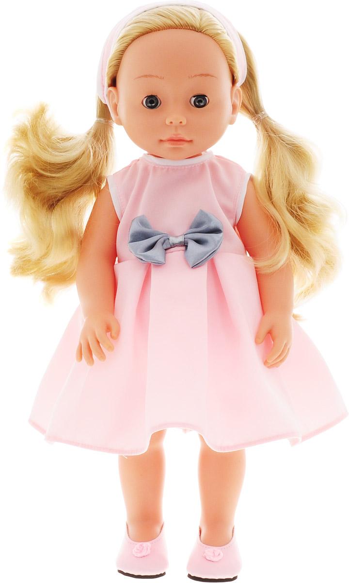 Bambolina Кукла Boutique цвет одежды розовый 40 см кукла yako m6579 6