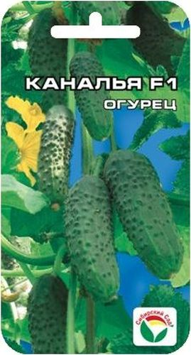 "Семена Сибирский сад ""Огурец. Каналья"", 7 шт"