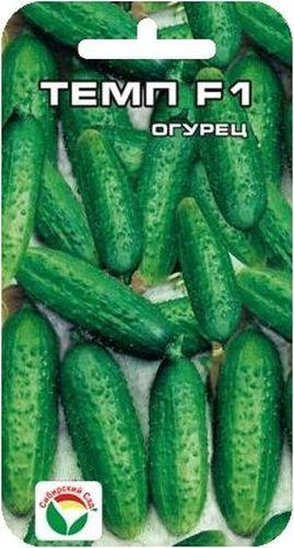 Семена Сибирский сад Огурец. Темп, 5 штBP-00000321Гибрид раннеспелый. От всходов до начала плодоношения 42-44 дня.Предназначен для производства пикулей (длина зеленца 3-5 см). Плодгенетически без горечи, длиной 5-7 см, диаметром 1,6-2 см, массой 70-80 г. Гибридхарактеризуется пучковым плодоношением, в одном узле формируется 3-5 плодов.Зеленцы цилиндрические бугорчатые, белошилые. с продольными полосами, неперерастают. Вкусовые качества отличные. Замечательно подходит для засола иконсервирования.Транспортабельность хорошая. Гибрид устойчив к кладоспориозу и мучнистойросе, относительно к ВОМ-1 и пероноспорозу. Общая урожайность 11-15 кг с 1 м2,при сборе пикулей - 5-7 кг с 1 м2.Для ускорения процесса всхожести семян, оздоровления растений, улучшениязавязываемости плодов рекомендуется пользоваться специальноразработанными стимуляторами роста и развития растений.