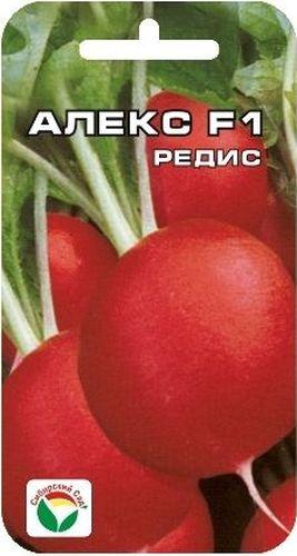 Семена Сибирский сад Редис. Алекс, 1 гBP-00000369Один из самых ультраскороспелых гибридов редиса (16 дней) для высева на протяжении всего весенне-летнего периода. Мякоть белая, сочная, с отличным вкусом. Корнеплоды устойчивы к растрескиванию. Этот гибрид можно выращивать в защищенном грунте на протяжении всего года. Рекомендуется для выращивания на раннюю пучковую продукцию. Посев производят с ранней весны до августа на глубину 1-2 см по схеме 7х7 см.Вес: 1 г.