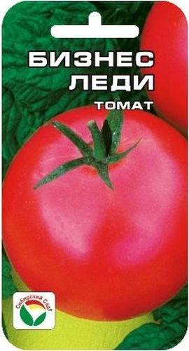 Семена Сибирский сад Томат. Бизнес леди, 20 штBP-00000448Среднепоздний сорт, основным достоинством которого является отличнаялежкость плодов, позволяющая сохранять их в течение 2-3 месяцев после сбора.Растение высотой 1,7-2 м, над 8-9 листом формирует кисти с 5-7 плотнымикруглыми гладкими плодами массой 130-180 г. Плоды в технической спелостизеленовато-белесые, в биологической - матово-красные. Урожайность сортасоставляет 17-18 кг с 1 м2.Посев на рассаду производят за 50-60 дней до высадки растений на постоянноеместо. Оптимальная постоянная температура прорастания семян 23-25°С. Привысадке в фунт на 1 м2 размещают 3 растения. Формируется в 1-2 стебля спасынкованием и подвязкой.Сорт хорошо реагирует на полив и подкормки комплексными минеральнымиудобрениями. Для ускорения процесса всхожести семян, оздоровления растений,улучшения завязываемости плодов рекомендуется пользоваться специальноразработанными стимуляторами роста и развития растений.