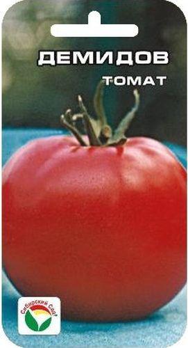 Семена Сибирский сад Томат. Демидов, 20 штBP-00000497Среднеспелый сорт салатного типа для возделывания в открытом грунте. От всходов до начала плодоношения 105-110 дней. Куст штамбовый, малорослый. Плоды округлые, плотные, с темно-зеленым пятном, при созревании розово-красной окраски. Средняя масса плода 100-110 г. Пригоден для выращивания с загущением до 6 растений на 1 м2. Урожайность 9-11 кг с 1 м2. Для подкормки используют минеральные комплексные удобрения.Для ускорения процесса всхожести семян, оздоровления растений, улучшения завязываемости плодов рекомендуется пользоваться специально разработанными стимуляторами роста и развития растений.
