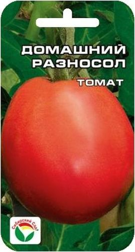 Семена Сибирский сад Томат. Домашний разносол, 20 штBP-00000506Среднеранний низкорослый очень урожайный сорт засолочно-консервногонаправления. Растение детерминантное, компактное, высотой 40-50 см.Пасынкуется до первой кисти. Плоды красные, округло-цилиндрические, гладкие,плотные, с хорошей лежкостью. Масса томатов 100-150 г. Вкусны в свежем виде,пригодны для любых видов домашней переработки. Благодаря плотнойконсистенции мякоти замечательно подходят для цельноплодногоконсервирования и засолки. Хорошо транспортируются и хранятся. Урожайностьсорта до 6 кг с 1 м2.Посев на рассаду производят за 50-60 дней до высадки растений на постоянноеместо. Оптимальная постоянная температура прорастания семян 23-25°С.При высадке в грунт на 1 м2 размещают 3-5 растений. Сорт хорошо реагирует наполив и подкормки комплексными минеральными удобрениями.