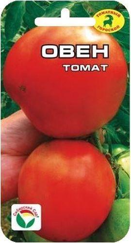 Семена Сибирский сад Томат. Овен в пачке семена сибирский сад томат гулливер