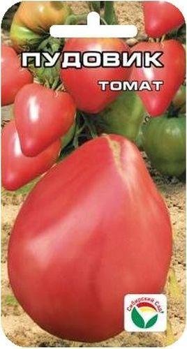 Семена Сибирский сад Томат. Пудовик, 20 штBP-00000615Сорт сибирских селекционеров с очень крупными плодами. При правильном уходе можно вырастить томаты весом до 1,5 кг. Сорт среднеспелый, куст детерминантный, высотой 1-1,5 м. Плоды крупные и красивые, ярко выраженной сердцевидной формы, великолепного вкуса. Урожайность сорта до 5 кг с растения. Сорт предназначен для выращивания в открытом и защищенном грунте. Посев на рассаду производят за 50-60 дней до высадки растений на постоянное место. Оптимальная постоянная температура прорастания семян 23-25°С. При высадке в грунт на 1 м2 размещают 3 растения. Сорт хорошо реагирует на полив и подкормки комплексными минеральными удобрениями. Выращивают в один-два стебля с подвязкой к опоре. Для получения высоких урожаев необходимо обеспечить регулярный полив и подкормки растений в процессе вегетации. Для ускорения процесса всхожести семян, оздоровления растений, улучшения завязываемости плодов рекомендуется пользоваться специально разработанными стимуляторами роста и развития растений.