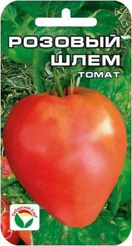Семена Сибирский сад Томат. Розовый шлем, 20 штBP-00000632Крупноплодный, розовоплодный сорт для открытого грунта и пленочных теплиц. Растение полудетерминантного типа высотой до 1,5 м, требует пасынкования до первой цветочной кисти. Плоды розовые, шлемовидно-удлиненной формы, крупные, массой 500-700г, салатного назначения, очень вкусные, ароматные. Урожайность сорта до 4 кг с куста. Посев на рассаду производят за 50-60 дней до высадки растений на постоянное место. При высадке в грунт на 1 м2 размещают 3-4 растения. Сорт хорошо реагирует на полив и подкормки комплексными минеральными удобрениями. Выращивается 1-2 стебля с подвязкой к опоре. Для ускорения процесса всхожести семян, оздоровления растений, улучшения завязываемости плодов рекомендуется использовать специально разработанные стимуляторы роста и развития растений.