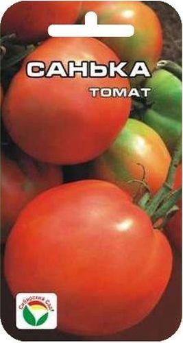 Семена Сибирский сад Томат. Санька, 20 штBP-00000642Ультраранний сорт. От всходов до начала созревания проходит всего 79-85 дней. Растение очень компактное, аккуратное, высотой 40-60 см. Плоды округлые, красные, слегка ребристые. Первые плоды массой 100 г, последующие 80-90 г. Зеленого пятна у плодоножки нет. В кисти 4-5 томатов, урожайность около 10 кг с 1 м2. Плоды очень вкусные в свежем виде, хороши при цельноплодном консервировании и пригодны для изготовления томатной пасты.Посев на рассаду производят за 50-60 дней до высадки растений на постоянное место. Оптимальная постоянная температура прорастания семян 23-25°С. При высадке в грунт на 1 м2 размещают 5 растений. Сорт хорошо реагирует на полив и подкормки комплексными минеральными удобрениями.Для ускорения процесса всхожести семян, оздоровления растений, улучшения завязываемости плодов рекомендуется пользоваться специально разработанными стимуляторами роста и развития растений.