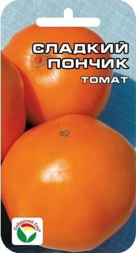 Семена Сибирский сад Томат. Сладкий пончик, 20 штBP-00000663Новый высокоурожайный раннеспелый сорт сибирских селекционеров для пленочных теплиц и открытого грунта. Очень понравится любителям желтых томатов за хороший вкус и низкое содержание кислот. Растение высотой до 1 м, кисть простая, с 4-8 красивыми выровненными плодами округлой формы, янтарно - желтого цвета, массой до 150 г. Соцветия закладываются через 1-2 листа, созревание плодов раннее и дружное. Сорт универсального назначения, отличных вкусовых качеств. Устойчив к ВТМ. Урожайность высокая - до 6 кг/м2. Один из немногих сортов, гарантирующий высокие урожаи в разные по погодным условиям годы.Посев на рассаду производят за 50-60 дней до высадки растений на постоянное место. При высадке в грунт на 1 м2 размещают 3-5 растений. Сорт хорошо реагирует на полив и подкормки комплексными минеральными удобрениями. Выращивается в 2-3 стебля с подвязкой и умеренным пасынкованием.