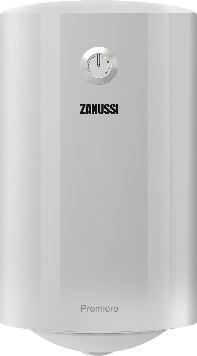 Zanussi ZWH/S 50 Premiero, White водонагреватель накопительныйНС-1085560Zanussi ZWH/S 50 Premiero - электрический накопительный водонагреватель в круглом дизайне с узким диаметром и возможностью размещения даже в самом ограниченном пространстве, например в технической нише.Водонагреватель Zanussi ZWH/S 50 Premiero оборудован одним нагревательным элементом, мощностью 1500 Вт.На нижней крышке водонагревателя расположена удобная и интуитивно понятная панель управления. На ней размещены ручка включения прибора, с помощью которой можно задать нужную температуру нагрева воды в диапазоне от 30 до 75°С. Используя функцию экономного режима (положение ЕCO), вода будет нагревается до температуры 55°С. При этой температуре, образование накипи сводится к минимуму и позволяет снизить расход электроэнергии.Технология Temperature control - автоматический контроль и индикация температуры воды. Благодаря технологии Energy Conservation и высокоэффективной теплоизоляции из высококачественного и экологически чистого пенополиуретана, происходит экономия электроэнергии и снижены тепловые потери.Высокая надежность водонагревателя достигается благодаря комплексной защиты от коррозии - Protect tank, которая включает в себя магниевый анод увеличенной массы и защитную мелкодисперсную эмаль.Защитная эмаль имеет высокую адгезивную способность, обеспечивает плотное прилегание к стенкам бака, что исключает возможность образования трещин и очагов коррозии.Многоуровневая защита водонагревателя состоит из нескольких ступеней:Защита от сухого нагрева;Защита от перегрева;Защита от превышающего норму гидравлического давления.Водонагреватель Zanussi ZWH/S 50 Premiero - качество, основанное на современных технологиях, совершенный дизайн и высокий уровень безопасности обеспечивает возможность надежной и стабильной работы.