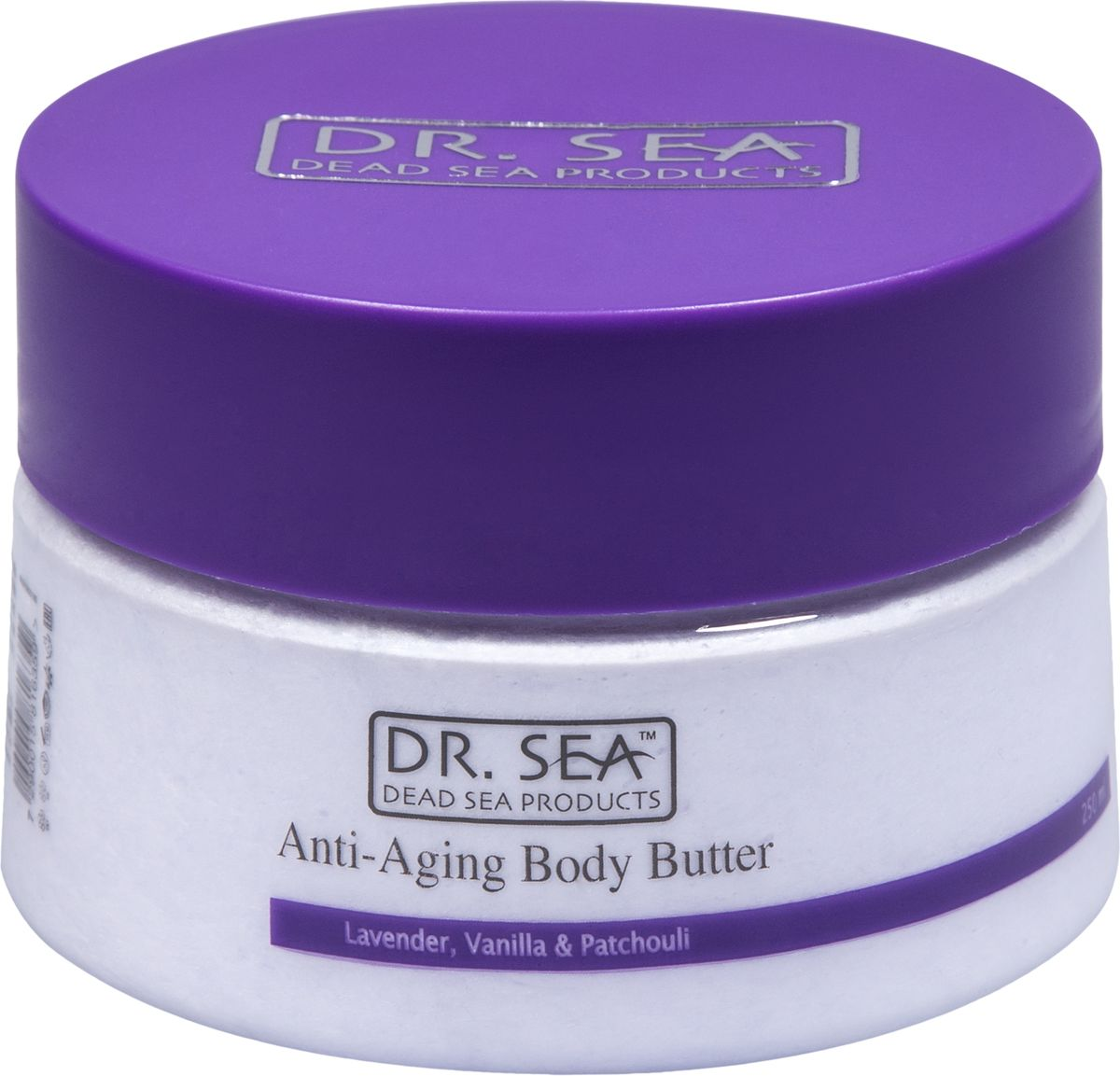 Dr.Sea Масло для тела против старения-лаванда , ваниль и пачули, 250 мл227Ежедневное применение масла для тела Dr. Sea позволяет коже эффективно противостоять процессу старения, повышает ее эластичность и упругость. Содержит минералы Мертвого моря, натуральные эфирные и растительные масла, а также витамины C и E, жирные кислоты омега-3 и омега-6. Способствует предотвращению растяжек, рекомендуется к применению в период диеты или беременности.Способ применения: после каждого принятия ванны или душа наносите на кожу массирующими движениями и втирайте до полного впитывания.Основу косметики Dr. Sea составляют минералы, грязи и органические вытяжки Мертвого моря, а также натуральные растительные экстракты. Косметические средства Dr. Sea разрабатываются и производятся исключительно на территории Израиля в новейших технологических условиях, позволяющих максимально раскрыть и сохранить целебные свойства природных компонентов. Ни в одном из препаратов не содержится парааминобензойная кислота (так называемый парабен), а в составе шампуней и гелей для душа не используется Sodium Lauryl Sulfate. Уникальность минеральной косметики Dr. Sea состоит в том, что все компоненты, входящие в рецептуру, натуральные. Сочетание минералов, грязи, соли и других натуральных составляющих, усиливают целебное действие и не дают побочных эффектов. Характеристики:Объем: 250 мл. Производитель: Израиль. Товар сертифицирован.