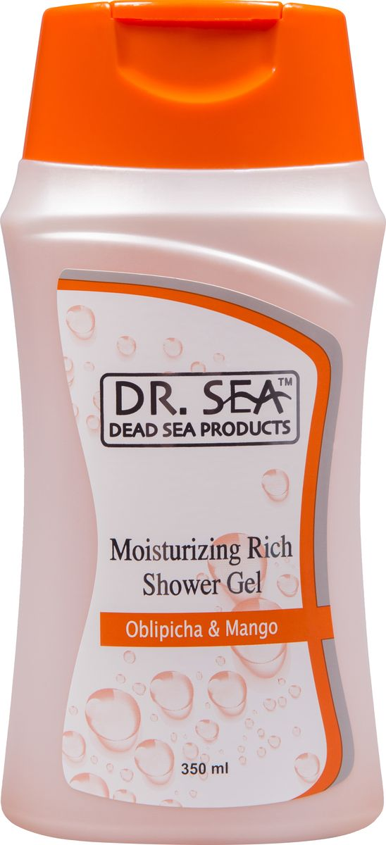 Dr.Sea Увлажняющий гель для душа-облепиха и масло манго, 350 мл236Крем-гель Dr. Sea обладает ароматерапевтическим эффектом и нейтрализует вредное воздействие жесткой воды. Благодаря действию масел облепихи и манго кожа после купания становится мягкой, упругой и бархатистой. Целебные свойства минералов Мертвого моря выравнивают рельеф, а также замедляют процесс старения и улучшают обмен веществ. Крем-гель придает вашей коже волшебный аромат, чудесное ощущение свежести и обновления. Возможно использование в качестве пенящегося средства для ванны. Подходит для всей семьи.Основу косметики Dr. Sea составляют минералы, грязи и органические вытяжки Мертвого моря, а также натуральные растительные экстракты. Косметические средства Dr. Sea разрабатываются и производятся исключительно на территории Израиля в новейших технологических условиях, позволяющих максимально раскрыть и сохранить целебные свойства природных компонентов. Ни в одном из препаратов не содержится парааминобензойная кислота (так называемый парабен), а в составе шампуней и гелей для душа не используется Sodium Lauryl Sulfate. Уникальность минеральной косметики Dr. Sea состоит в том, что все компоненты, входящие в рецептуру, натуральные. Сочетание минералов, грязи, соли и других натуральных составляющих, усиливают целебное действие и не дают побочных эффектов. Характеристики:Объем: 400 мл. Производитель: Израиль. Товар сертифицирован.