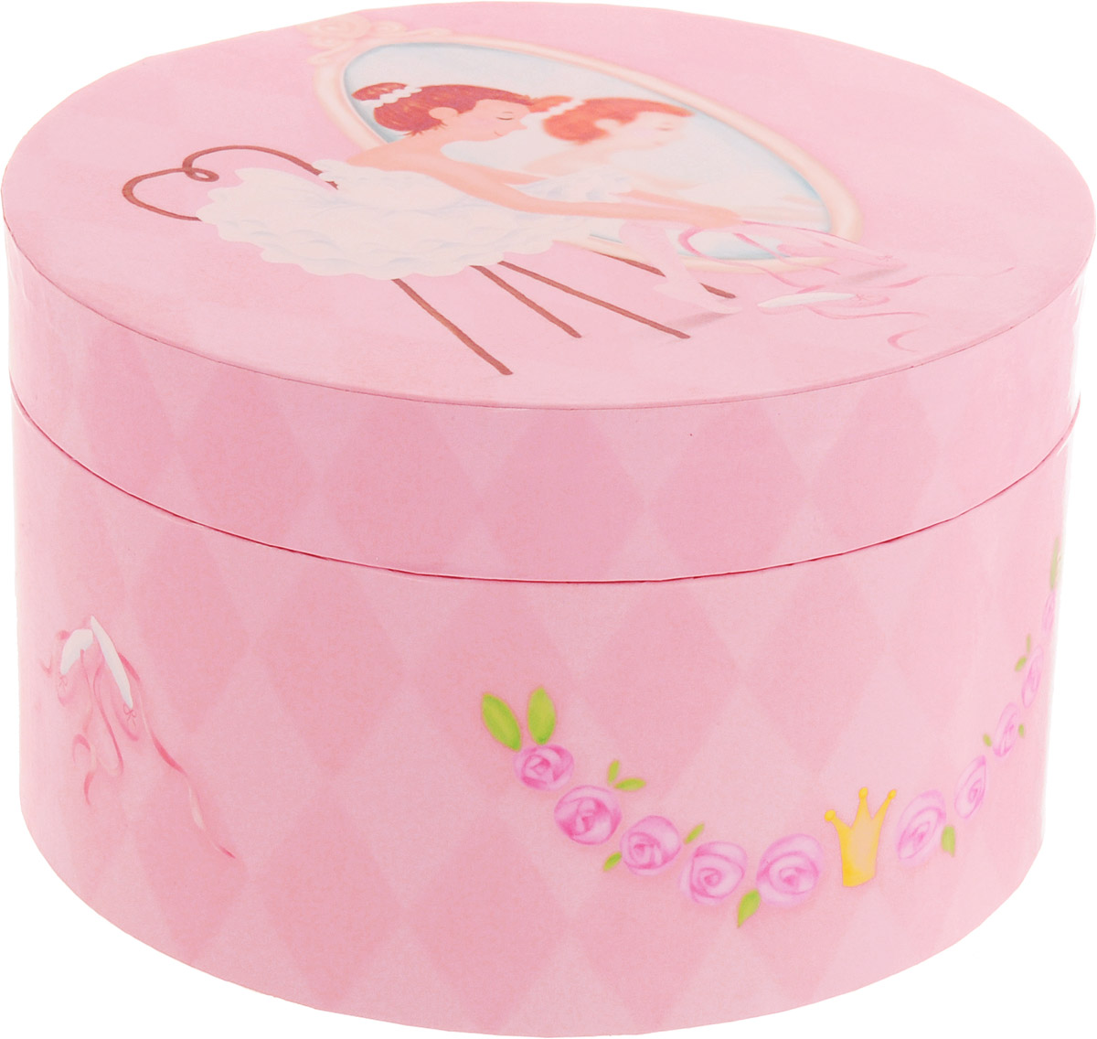 Jakos Музыкальная шкатулка Балерина перед зеркалом музыкальная шкатулка jakos балерина цвет бежевый розовый