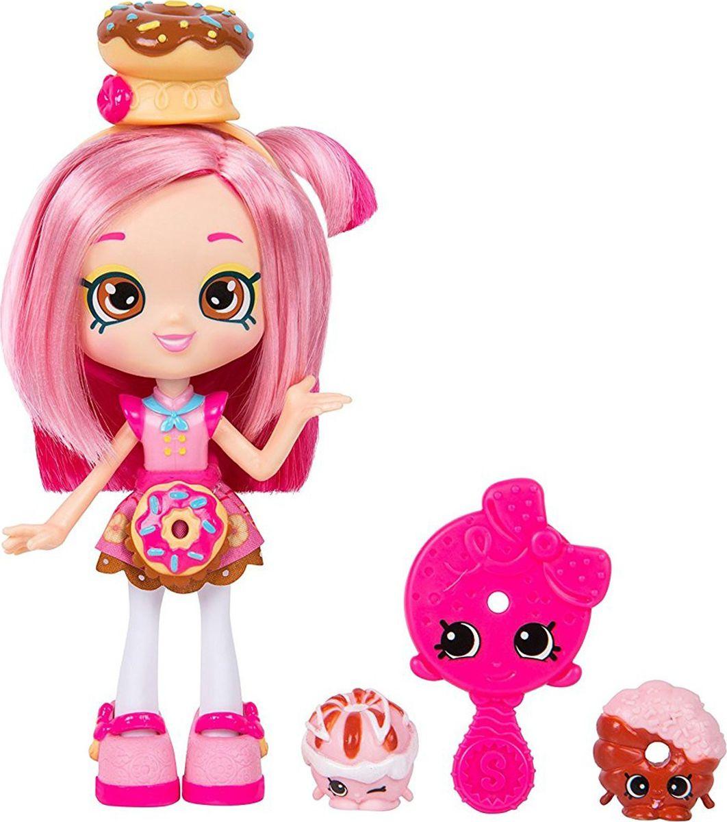 Shopkins Мини-кукла Shoppies Donatina куклы с черными волосами