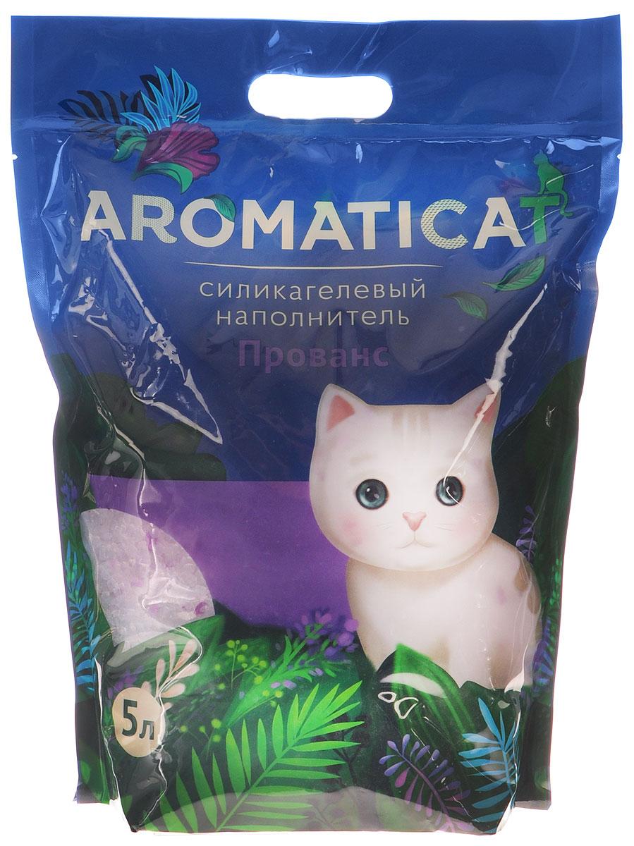 Наполнитель для кошачьего туалета Aromaticat Прованс, силикагелевый, с ароматом лаванды, 5 л00-00002001Силикагелевый наполнитель Aromaticat Прованс представляет собой особую форму диоксида кремния, прошедшую термическую и санитарную обработку, в результате чего:- моментально и абсолютно поглощает влагу и запах, а лапки вашего питомца всегда остаются сухими и чистыми; при этом все неприятные запахи нейтрализуются,- препятствует размножению болезнетворных бактерий и организмов,- безопасен при попадании в организм; безвреден для окружающей среды,- сохраняет свежесть и чистоту в доме, не пылит,- экономичен в использовании,- безопасен для лапок - кристаллы не прилипают и не повреждают нежную кожу лапок вашего любимца, не застревают в шерсти.Нежный аромат лаванды не отпугивает кошку и не вызывает аллергии.Товар сертифицирован.