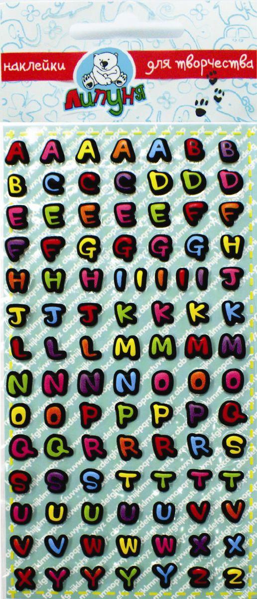"""Набор наклеек Липуня """"Английский алфавит"""" - мягкие на ощупь наклейки с сочными красками и высоким качеством печати.Подходят, как для изучения букв и цифр дошкольниками, так и написания слов детьми школьного возраста (можно наклеивать на сумки, пеналы, тетради и т.п.).Английский алфавит поможет в изучении иностранного языка.Многократное переклеивание без потери качества!"""