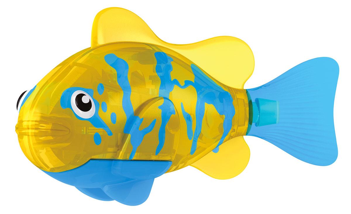 Robofish Игрушка для ванны Тропическая РобоРыбка. Белогрудый хирург, цвет: синий, желтый