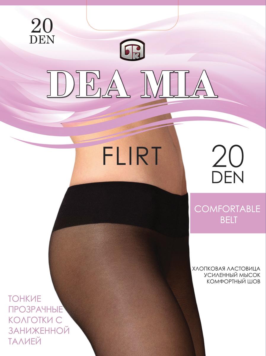 Колготки женские Dea Mia Flirt, 20 den, цвет: мокко. 3С1441-Д38/20. Размер 2